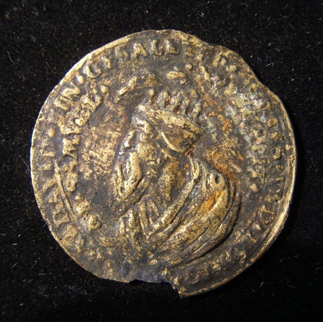 Austrian satirical cuckold Judaica medal of David &