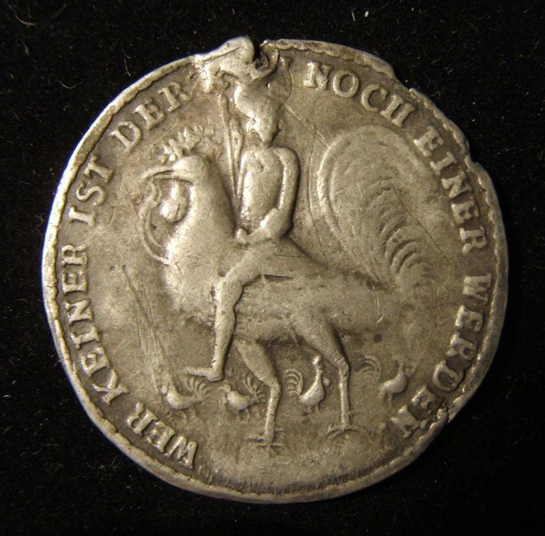 German anti-Semitic Judaica Cuckold large medal with