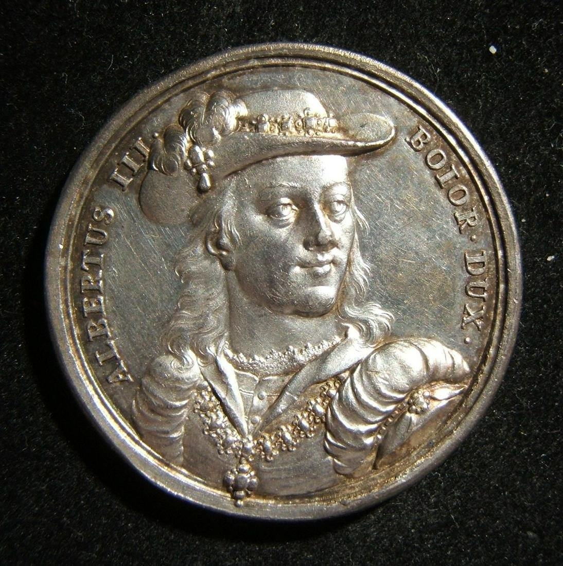 German anti-Semitic Albrecht III Fromme silver medal;