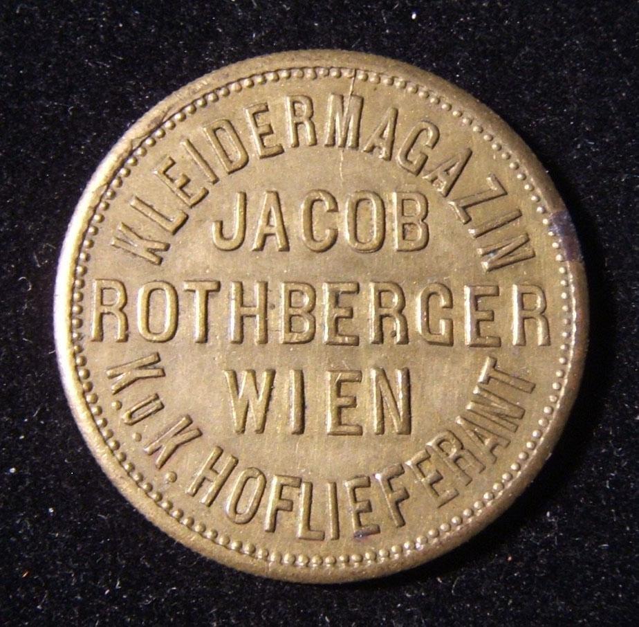 Austrian Jacob Rothberger undenominated illustrated