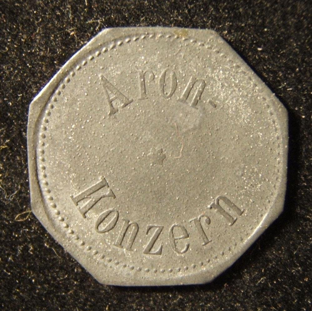 German-Polish 15 Wert-Mark Jewish Aron/Nora the