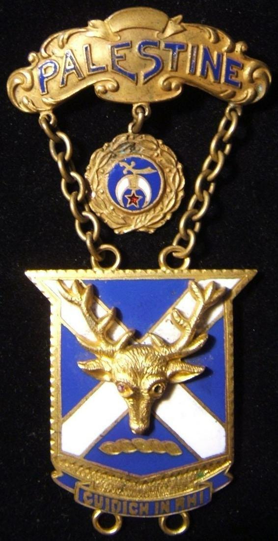 American Shriner-Palestine Freemason's lodge member's