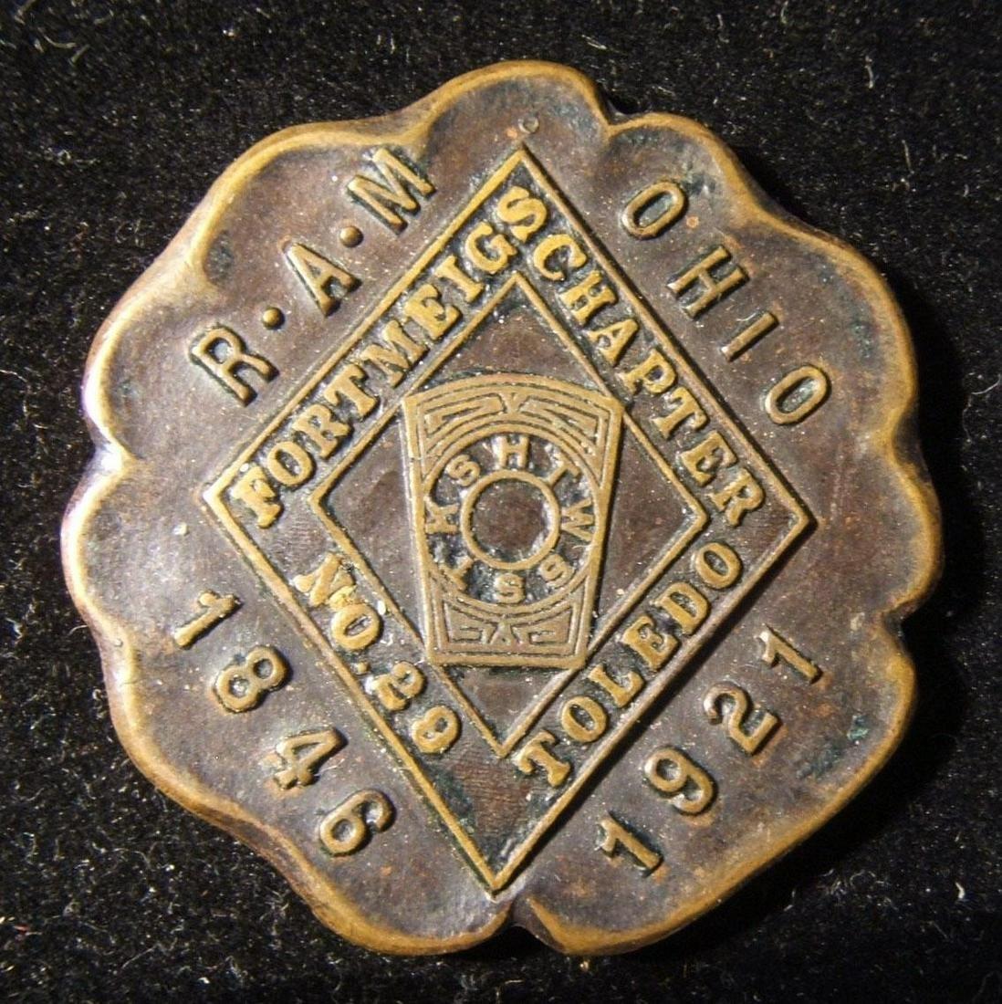 American Fort Meigs Royal Arch Freemasons 75th