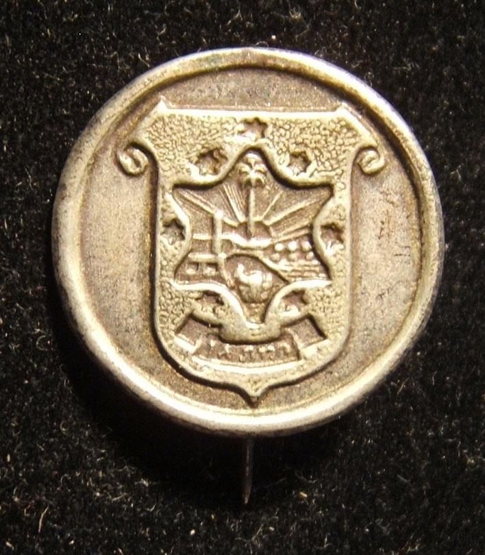 Israeli Ramat Gan municipality stick pin, circa. 1940's
