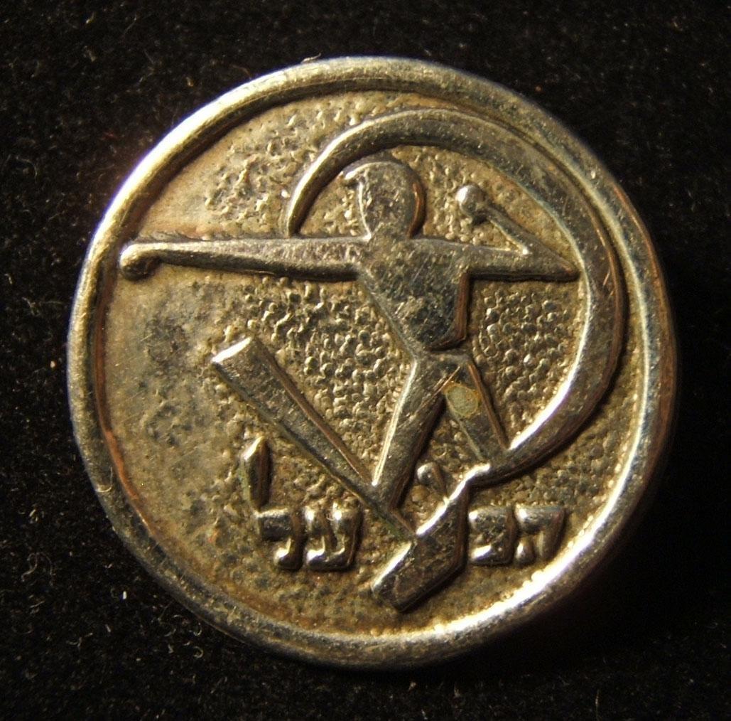 Eretz Israeli large Hapoel sports association emblem