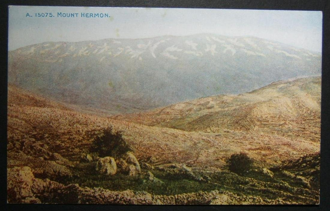 1900s Holyland/Palestine Exhibitions unused color