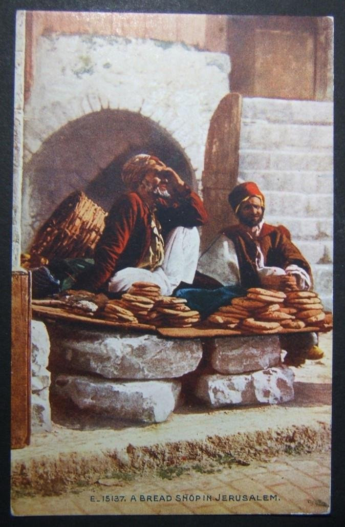 1900s evangelical Holyland/Palestine color picture