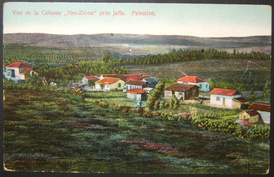 Vintage Eretz Israel postcard Colony Nez-Siona, Edition