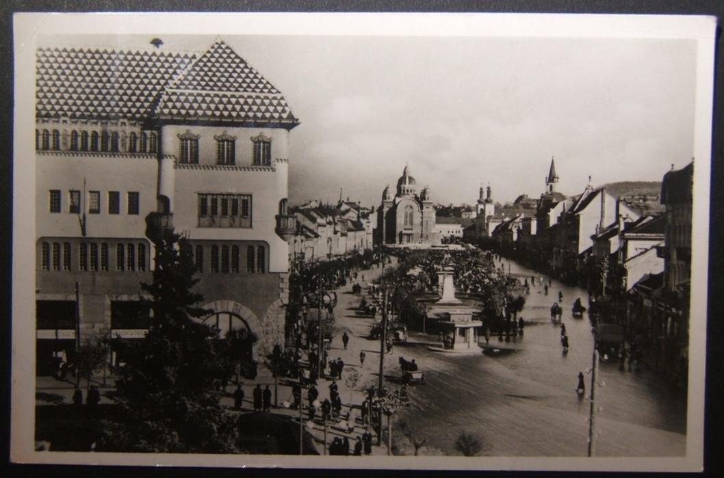 Hungarian WWII-era picture postcard