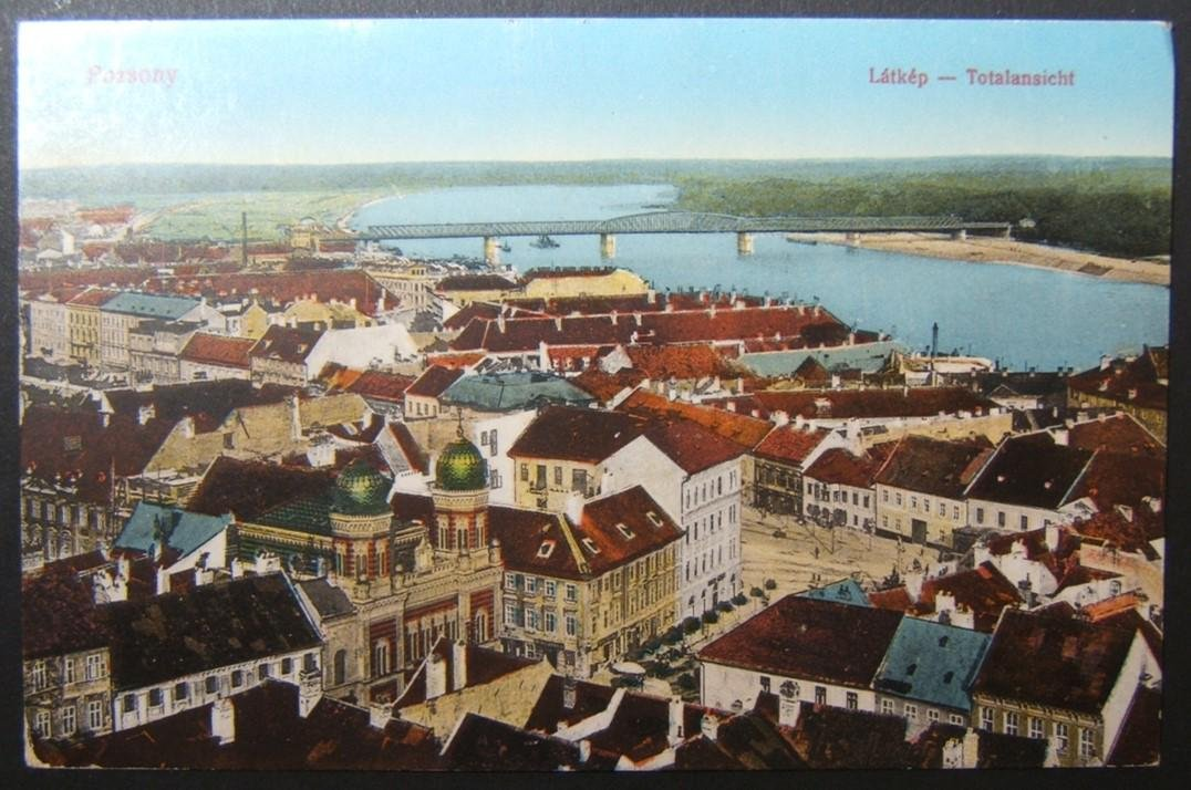 WWI Military mailed/marked Judaica postcard