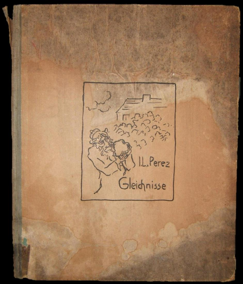 Yitzhak Leib Peretz Parables book with illustrations by