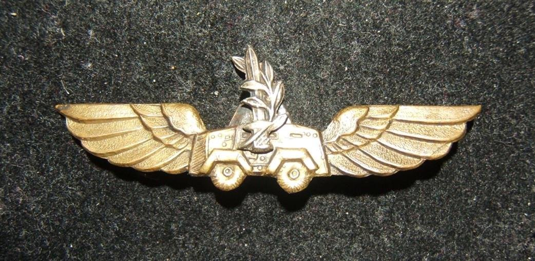 Israel 1948 Independence War badge for armored convoy