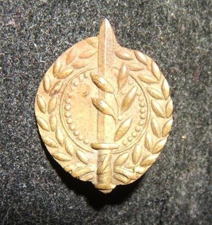 Rare early period Israeli Army/IDF General Staff emblem