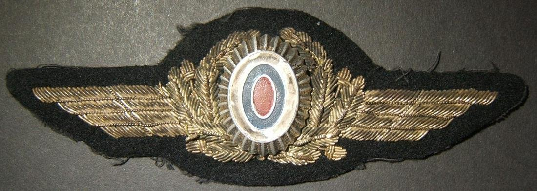 Rare WWII officer's cap badge of Vlasov's Russian