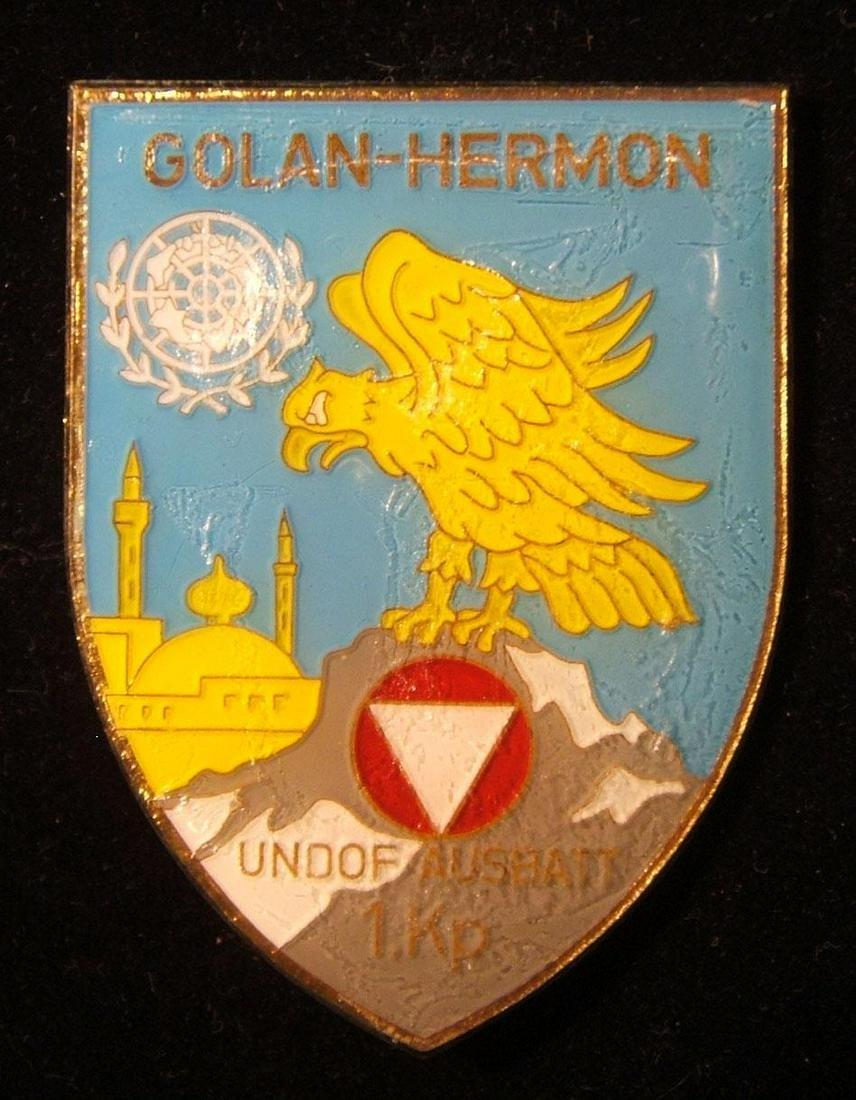 Golan Heights 1st company AusBatt Austrian UN battalion