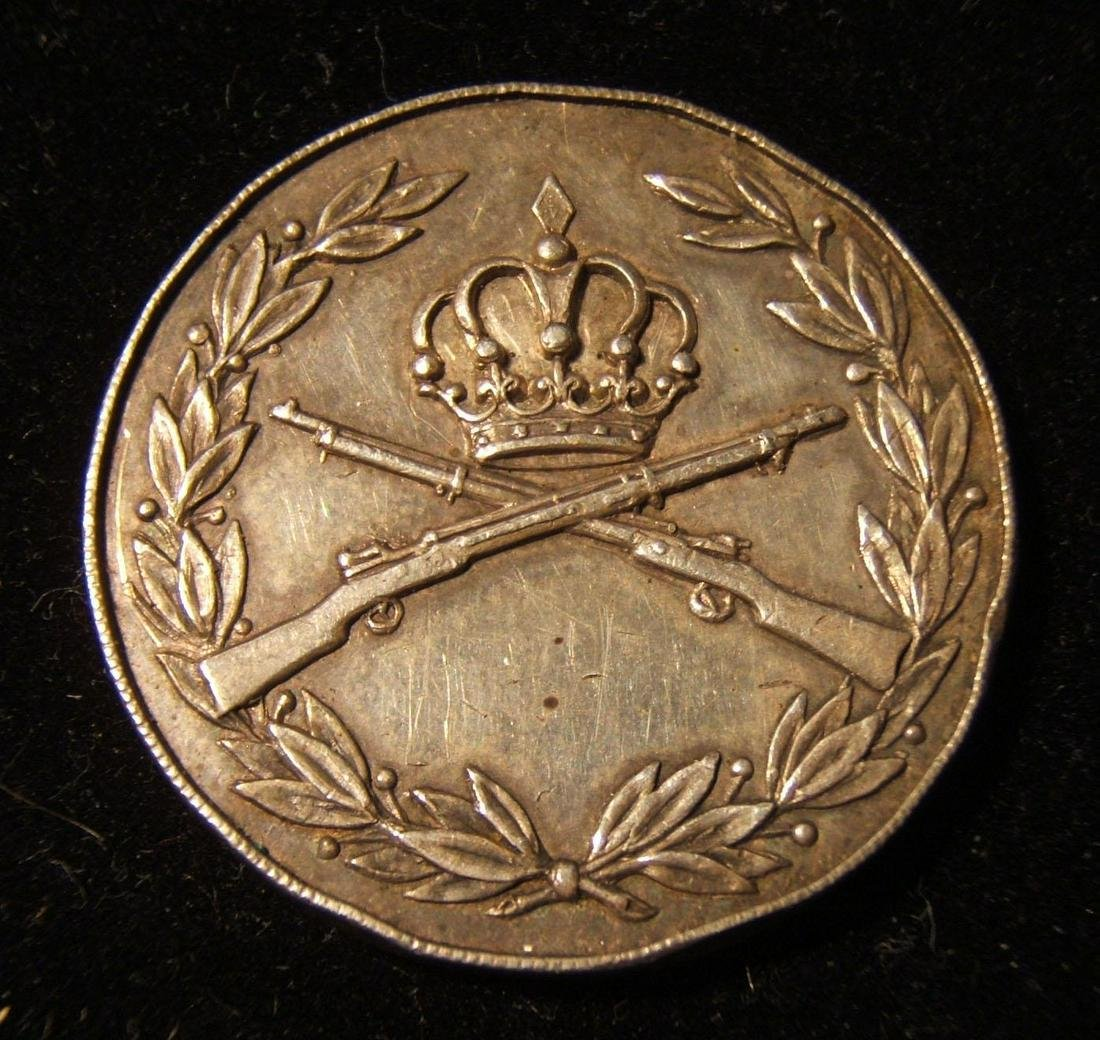 Jordanian army British-silver military decoration, 1956