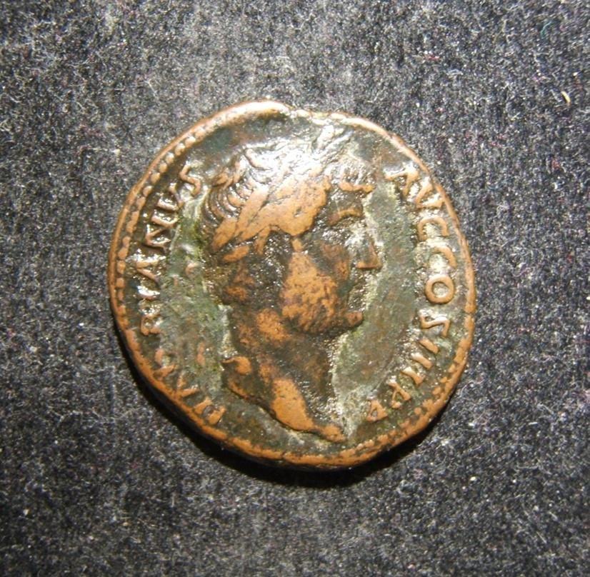 Roman Empire Hadrian ancient AE As coin RIC II 827,