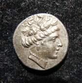 Ancient Greek Euboea Histiaia AR Tetrobol coin