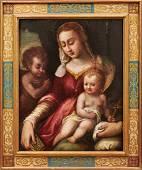 Madonna mit Kind und dem Johannesknaben —