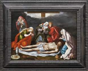 Beweinung Christi — Flämischer Meister des 16.