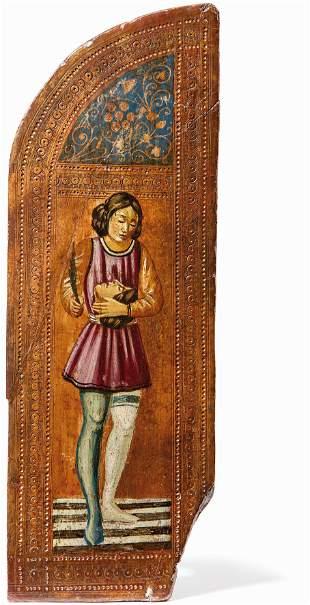 Flügel eines kleinen Hausaltars — Um 1600