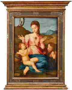 Tito, Santi di (Attrib.) — Madonna mit Kind und