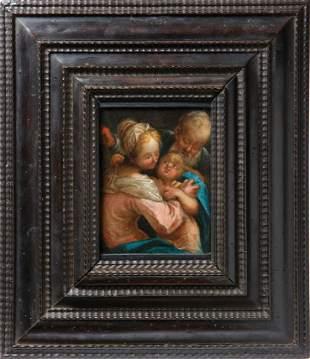 Spranger, Bartholomeus (Attrib.) — Die Heilige