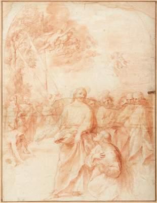 Jesus predigt am See Genezareth — Rom, Kreis des