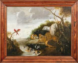 Savery, Jakob d.J. — Paradieslandschaft mit Einzug