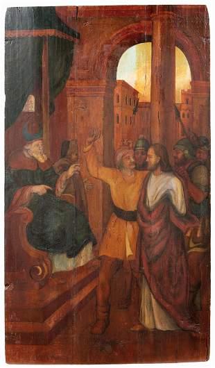 Christus vor Pilatus — Deutschland, 17. Jh.