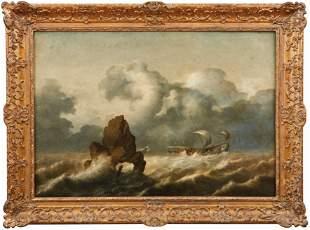 Vlieger, Simon Jacobsz de (Attrib.) — Segelschiffe in