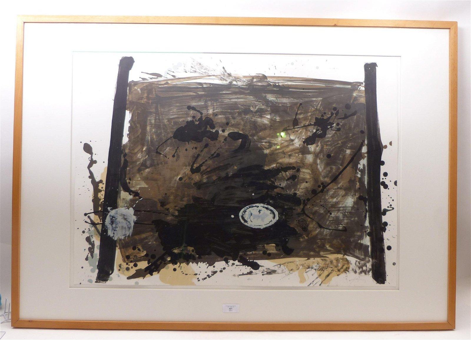 Tàpies, Antoni — Komposition ohne Titel