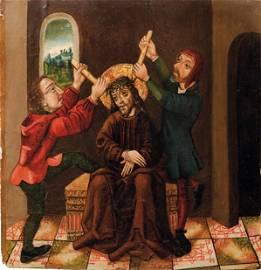Breu, Jörg - Schule des — Gotisches Tafelbild mit