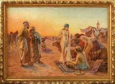 Pilny, Otto Franz — Orientalischer Sklavinnenmarkt