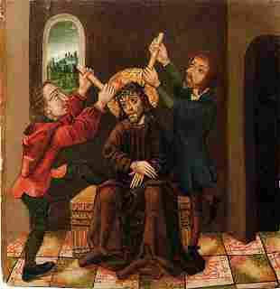 Breu, Joerg - Schule des, Gotisches Tafelbild mit der