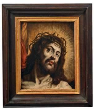 Der dornengekroente Christus, Hispano-flaemische Schule