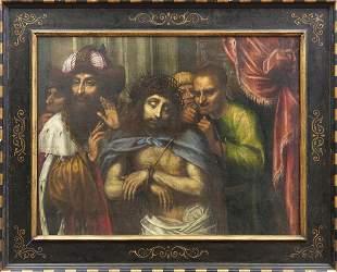 Italienischer Meister des fr. 17. Jahrhunderts, Ecce