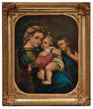 Raffaello Sanzio da Urbino - Kopie des 19. nach: