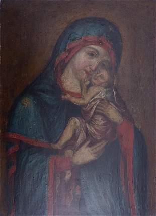 Gottesmutter Glykophilusa, 18. Jh.