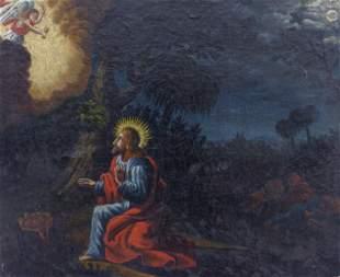 Jesus im Garten Gethsemane, 19. Jh.