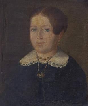 Bildnis einer Dame, 19. Jh.