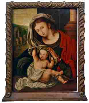 Gossaert, Jan - Nachfolger: Maria mit dem Kinde