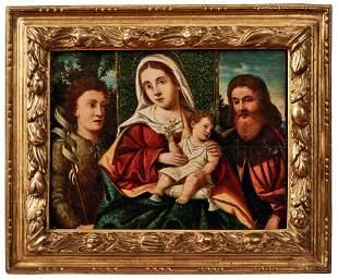 Santacroce, Girolamo di - Nachfolge: Madonna mit dem