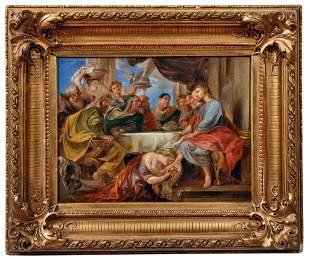 Rubens, Peter Paul - Kopie nach: Christus im Haus des