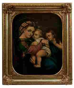 Raffaello Sanzio da Urbino - Kopie des 19. nach,