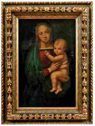 Bianchini, Virgilio: Madonna del Granduca - Kopie nach