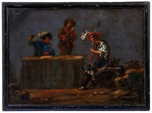 Bramer, Leonaert (Attrib.): Naechtliche Szene mit