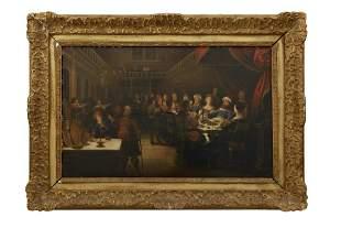Das Gastmahl des Belsazar, Niederlaendischer Meister