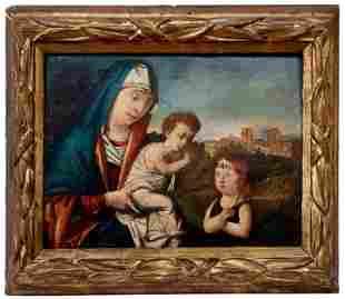 Bellini, Giovanni - Nachfolger: Madonna mit Kind und