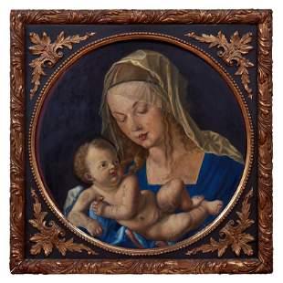 Duerer, Albrecht - Kopie des 20. Jh., Maria mit der